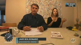 Jair Bolsonaro critica reajuste dos salários do Judiciário | SBT Brasil (09/11/18)