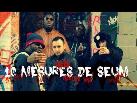 Maza - 10 Mesures De Seum (clip Officiel) video
