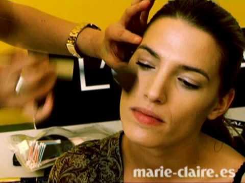 Así maquillamos y peinamos a Laura Sánchez para los Prix