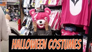 SHOPPING FOR HALLOWEEN COSTUMES | THE LEROYS