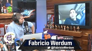 Fabricio Werdum Wants a Rematch with Fedor Emelianenko in Chechyna