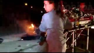Mulher morre e dois ficam feridos em acidente em Américo