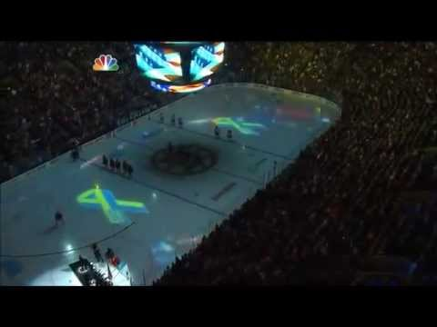 Boston Crowd Sings National Anthem, First Post-Bombing Sporting Event