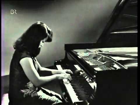 Liszt, Hungarian Rhapsody No.6, Martha Argerich 1966