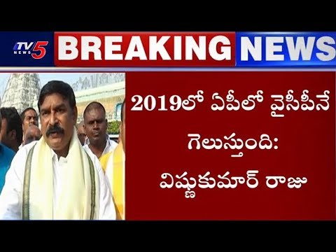BJP Vishnu Kumar raju Sensational Comments on CM Chandrababu | TV5 News