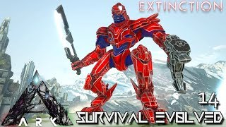 ARK: EXTINCTION - MEK | ENFORCER SADDLE | PURPLE OSD | ALPHA TREX TOOTH | ARK SURVIVAL EVOLVED E14