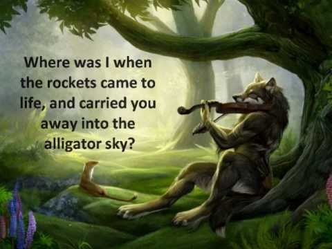 Alligator Sky (no Rap) Owl City Lyrics video