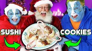 Santa Reveals ALL His Secrets to REAL ALIENS!! | Official AlienBuzzTV
