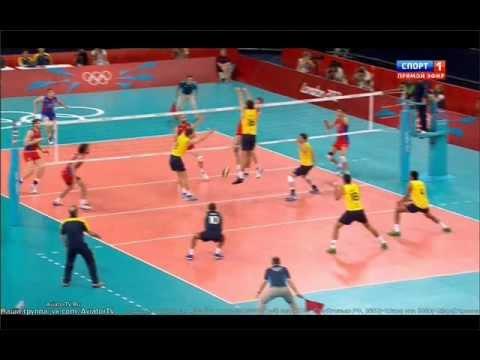 Россия vs. Бразилия - Волейбол Финал Олимпийские игры 2012