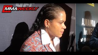 Amanda Nunes: 'Germaine de Randamie is the fight of my life'  (UFC 245)