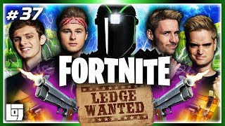LEDGE WANTED IN FORTNITE met ALLE LEGENDS! | LOGS3 | #37