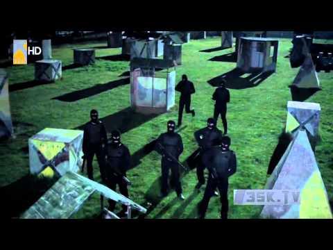 مشهد روووعة من الحلقة 221  من وادي الذئاب ج8 كار و فرقة الراية السوداء HD