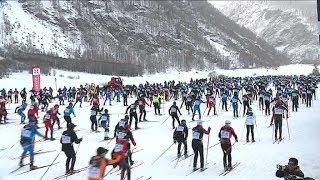 40 ème Edition du marathon nordique à Bessans ce 13 janvier 2019