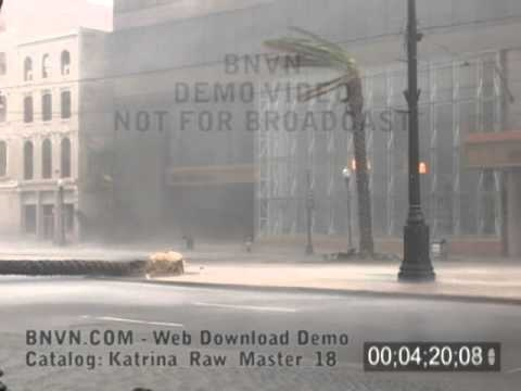 8/29/2005 Hurricane Katrina, New Orleans, LA - Canal Street & Camp St. - Katrina Raw Master 18