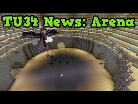 Minecraft Xbox 360 / PS3 TU34 - ARENA & New Achievements