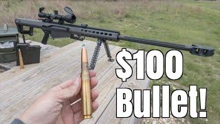 Shooting One Of The Most Expensive Bullets!