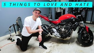 5 Things I Love and Hate About the Yamaha MT-07 (FZ-07)