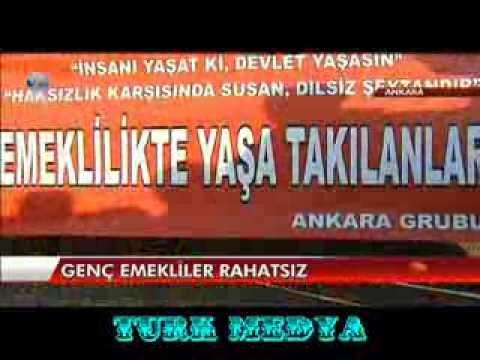EMEKLİLİKTE YAŞA TAKILANLAR-TBMM EYLEMİ-KANAL D-ANA HABER-(21/01/2014)-TÜRK MEDYA SUNAR.