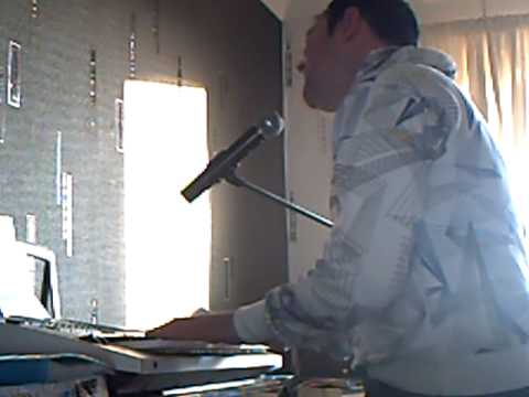 Daniel Powter-Next Plane home(me singing and playing piano)