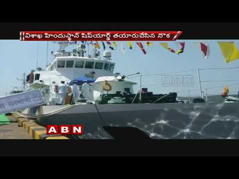 Indian Coast Guard receives inshore patrol vessel Rani Rashmoni
