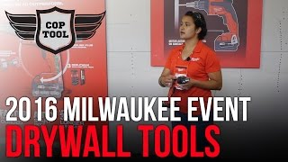 Milwaukee M18 Drywall Screw Gun & M18 Cut-Out Tool