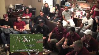 Florida State Fans React to 2014 BCS National Championship