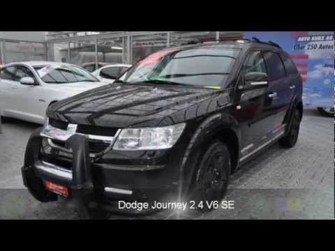 Dodge Journey 2.4 V6 SE - 19438 - AUTO KUNZ AG - OCCASION. - YouTube