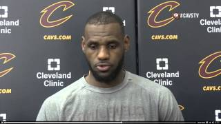 First Take: LeBron James on Stephen Curry: ' Well, the same way you slow me down. You can't '