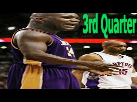 Basketball Live 98 LA Lakers VS Toronto Raptors 3rd Quarter
