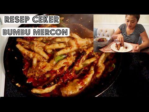 RESEP CEKER BUMBU MERCON || PEDESNYA GILAAA