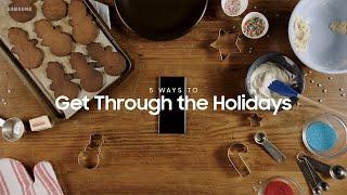 Samsung Galaxy Note10: 5 ways to get through the holidays
