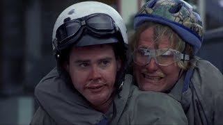 Dumb And Dumber - Freezing on bike
