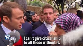 French President Macron Speaks Truth on Immigration