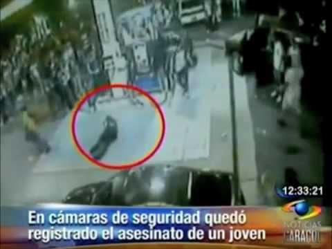 Impactantes imágenes de un asesinato en Colombia