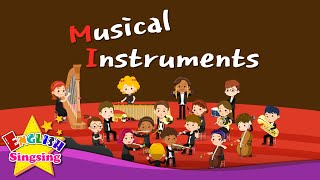 Kids Vocabulary Musical Instruments Orchestra Instruments English Educational Audio For Kids