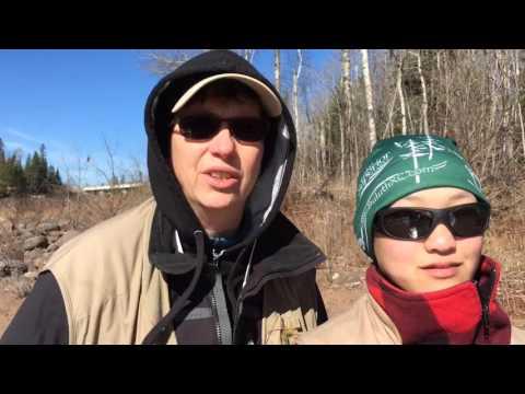 Lake Superior Steelhead Association mentored steelhead fishing