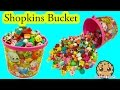 Bucket Full Of Shopkins Season 5 + Surprise Blind Bags Unboxi...