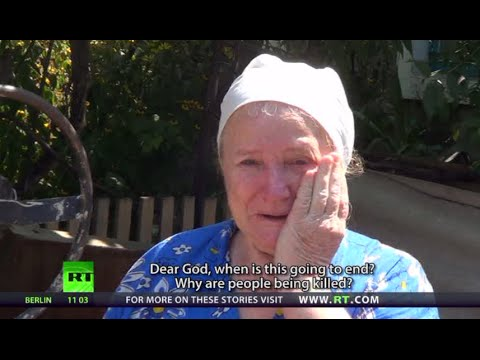 'Why are they killing us?' E. Ukraine civilians fed up with everyday struggle for survival