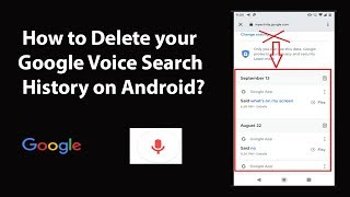 How to Delete your Google Voice Search History on Android?