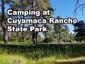 Cuyamaca State Park Camping - California Camping