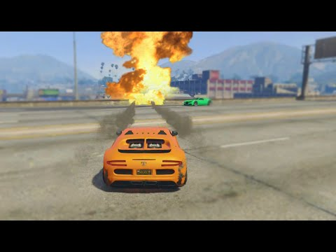 THE EXPLOSIVE RACE (GTA 5 Funny Moments)