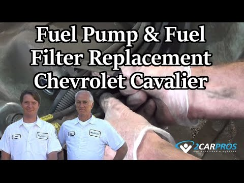 Fuel Pump & Fuel Filter Replacement Chevrolet Cavalier 1995-2005