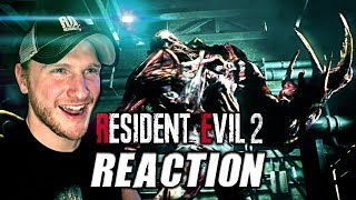 RESIDENT EVIL 2: REMAKE || *NEW* STORY TRAILER - REACTION & FIRST IMPRESSIONS + ANALYSIS! | TGS 2018