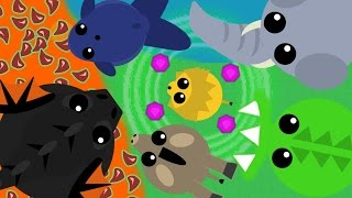 MOPE.IO NO ABILITIES CHALLENGE! *Is This Unfair?* New UPDATED CHALLENGE in MOPE (Mope.io Gameplay)