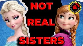 Film Theory Disney 39 S Frozen Anna And Elsa Are Not Sisters