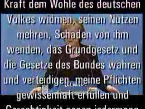 Merkel bestätigt Wahlbetrug!