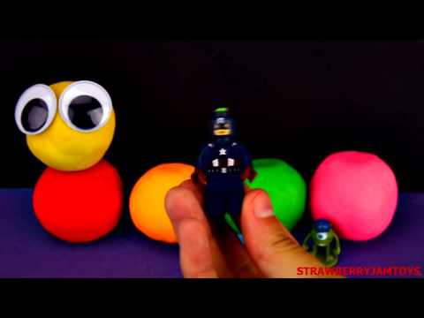 Thomas and Friends - Kinder Surprise Captain America Hello Kitty - Surprise Eggs