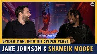 Jake Johnson and Shameik Moore Talk 'Spider-Man: Into the Spider-Verse'