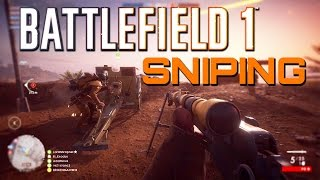Battlefield 1: Sniper - Fao Fortress Conquest Gameplay