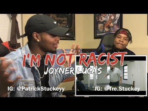Joyner Lucas - I'm Not Racist - REACTION